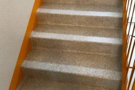 Treppenhausbeschichtung Industriebeschichtung